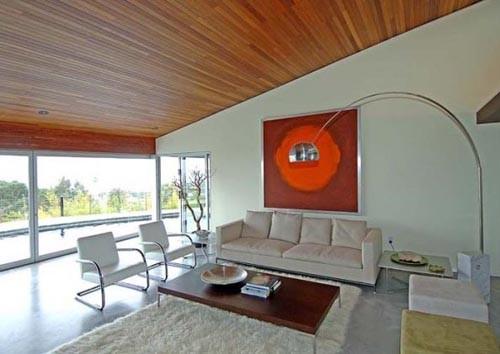 Дизайн гостиной в стиле фьюжн