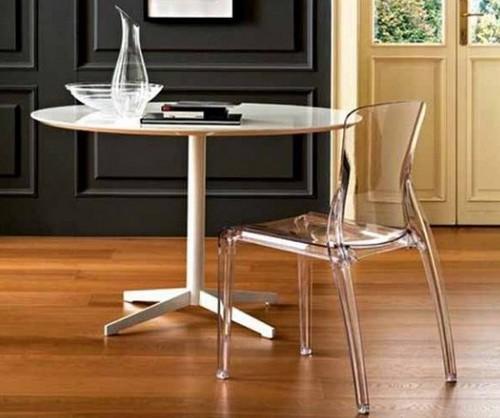 Литые стулья для дома из пластика