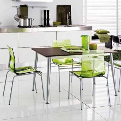 Красивые стулья для дома из металла и пластика