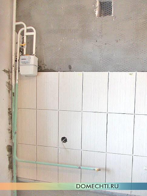 Укладка кафеля в ванной своими руками