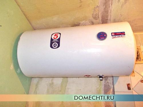 как установить водонагреватель накопительный
