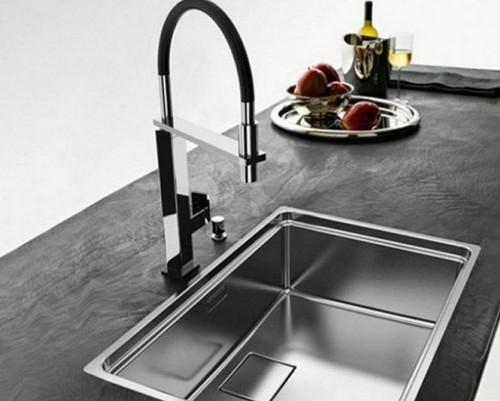 Смесители для кухни с душем на столешницу