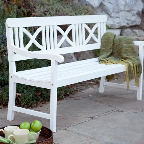 Пластиковые скамейки для дачи