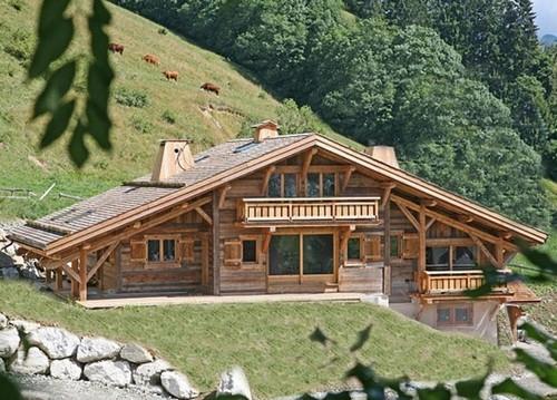 Экологичные дома в стиле шале