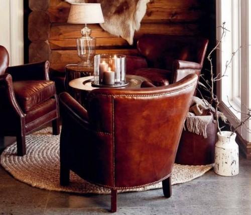 Мебель в стиле шале