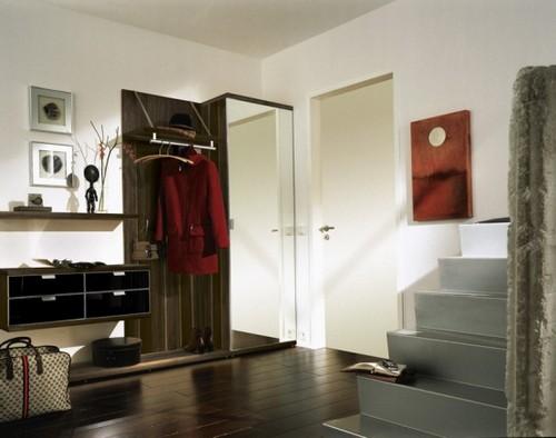 Мебель для прихожей коричневая