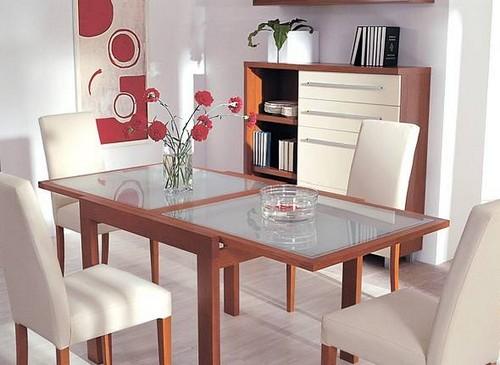 Обеденные столы и стулья фото