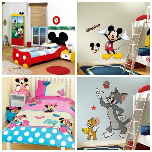 Оригинальные аксессуары для детской комнаты Disney