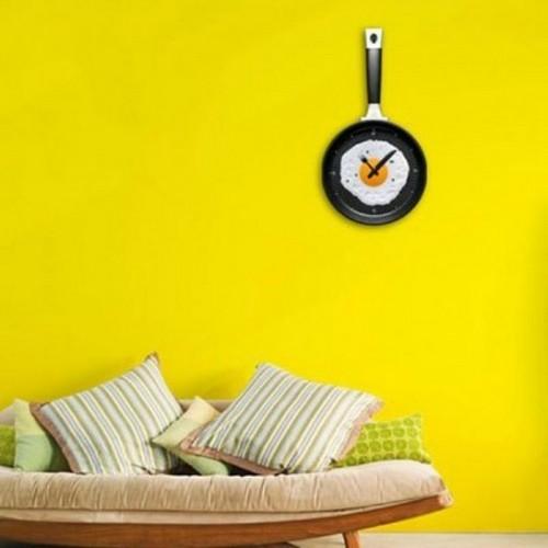 Часы кухонные Глазунья