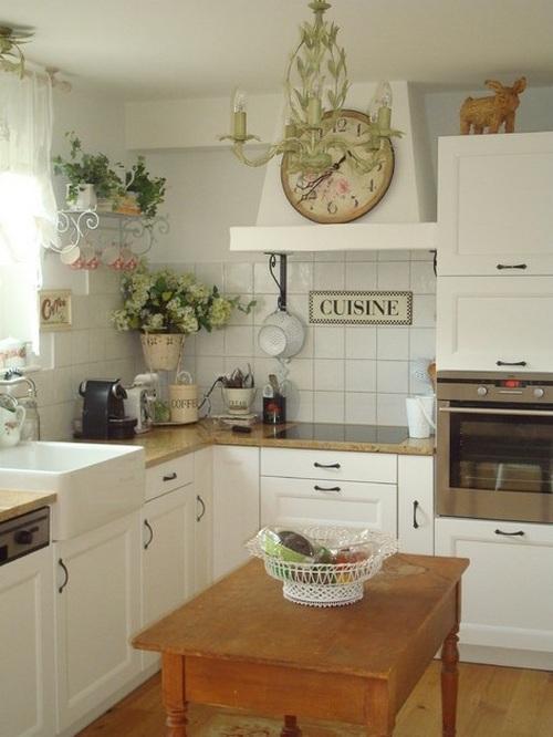 Настенные часы для кухни фото