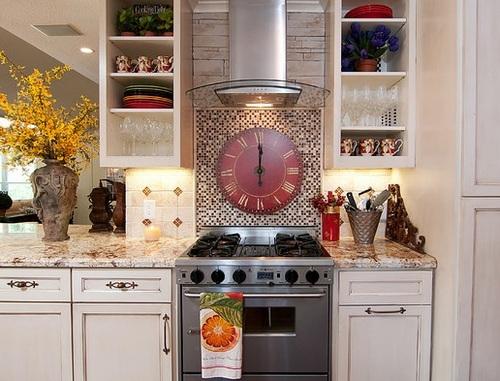 Часы для кухни фото