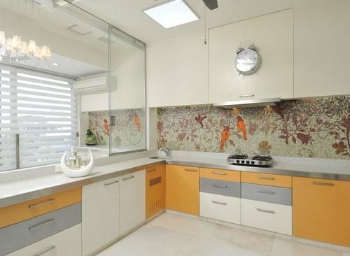 Фото часы настенные кухонные