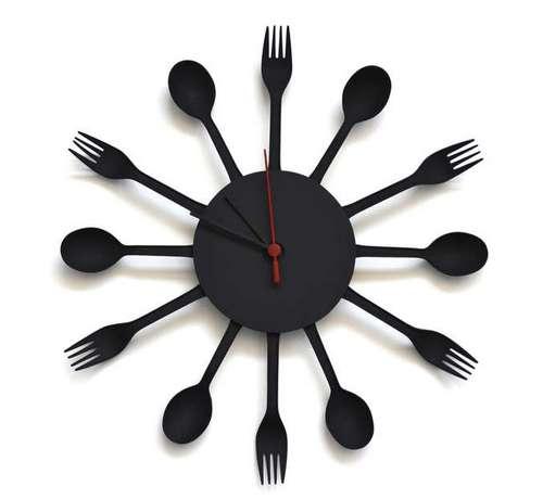 Часы на кухню своими руками