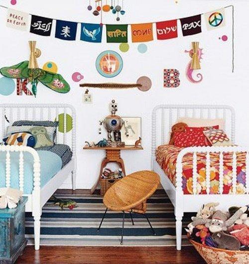 Кровати для детской комнаты для разнополых детей