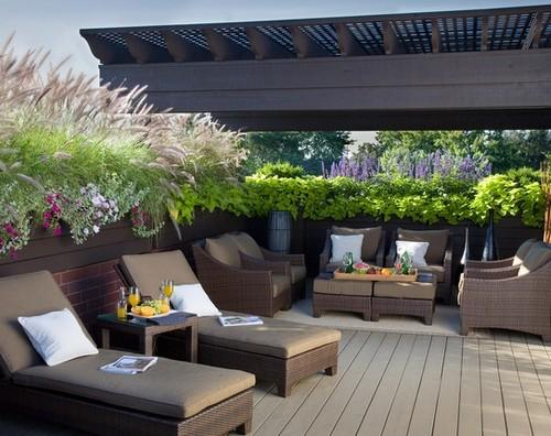 Дизайн летней террасы фото