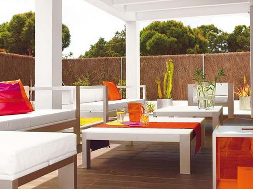 Дизайн летней террасы