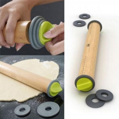 Регулируемая скалка для теста - удобные кухонные гаджеты