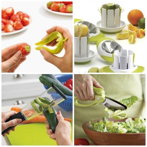 Ножи для фигурной нарезки и чистки овощей и фруктов