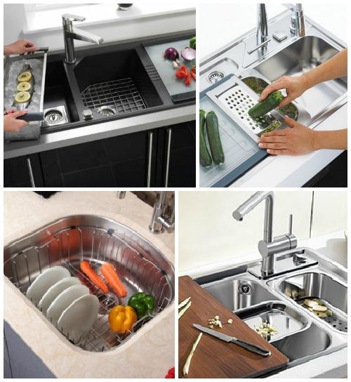 Гаджеты - аксессуары для кухонной мойки