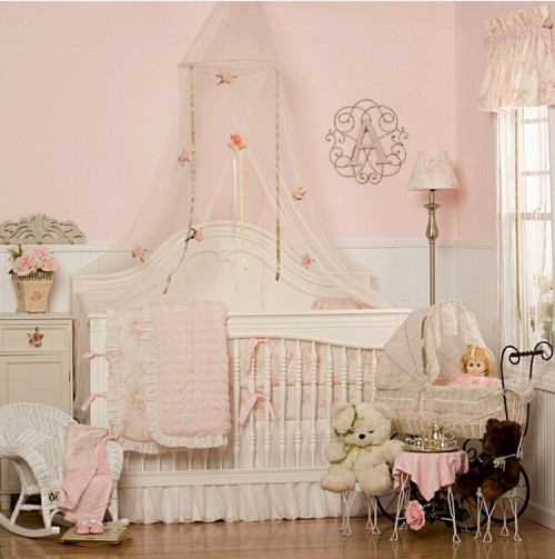 Детская комната в стиле Шебби Шик