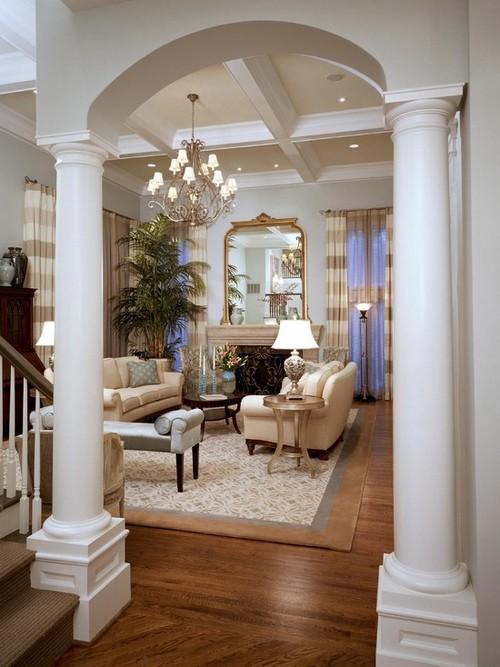 - Columnas decoracion interiores ...