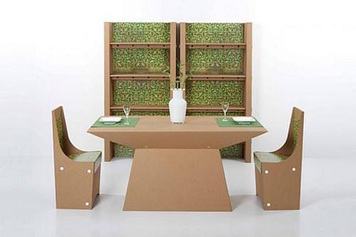 Интересная мебель из картона фото