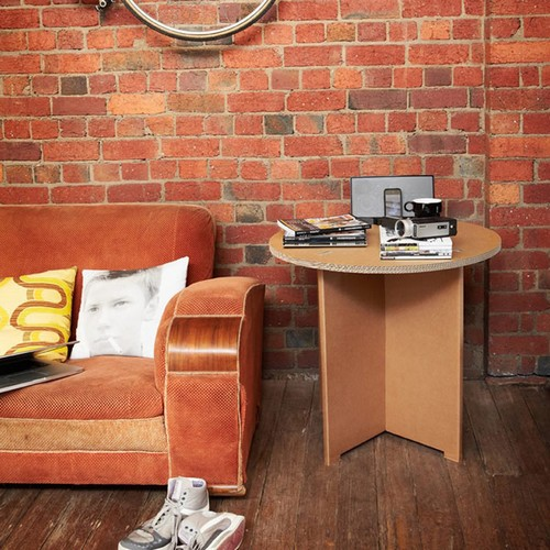 Дизайнерский столик из картона от SmartDeco