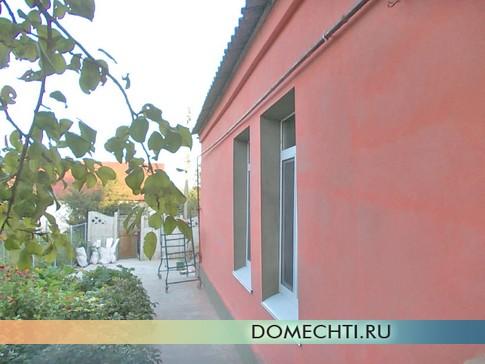 покраска фасада частного дома