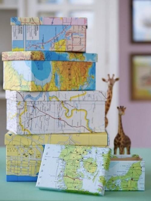 Географические карты в интерьере фото