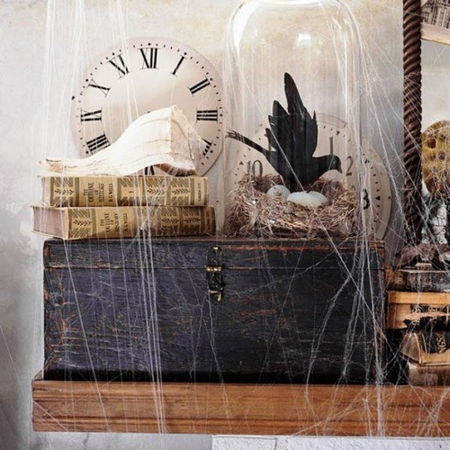 Украшение квартиры к Хэллоуину