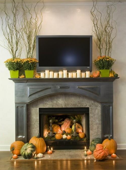 Тематическое украшение дома к Хэллоуину