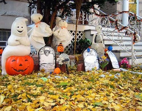 Как украсить свой дом на Хэллоуин