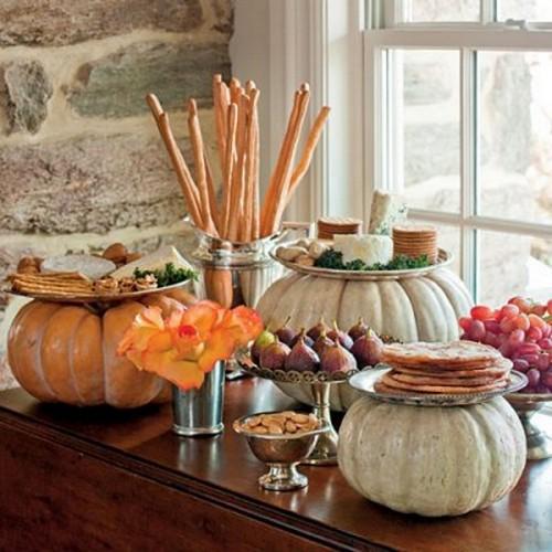 Оригинальная подача и украшение блюд на Хэллоуин