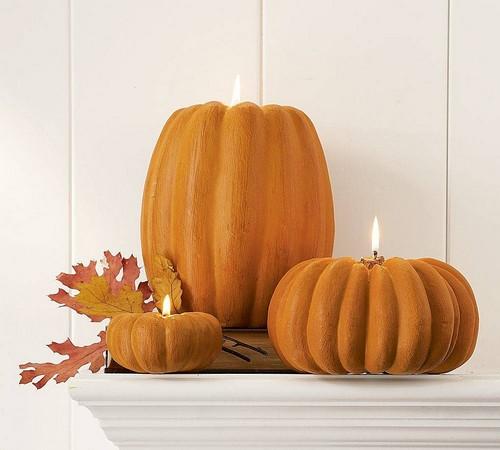 Как сделать украшение на Хэллоуин из оранжевой тыквы