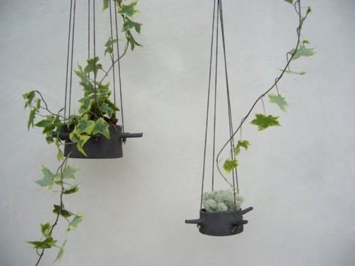 Подвесные оригинальные кашпо для цветов Karin Eriksson