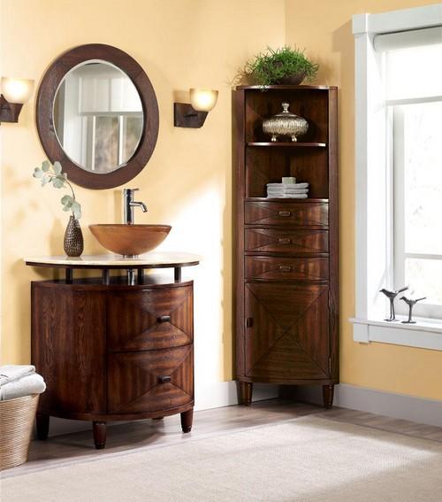 Мебель для ванной из дерева - Мойдодыр