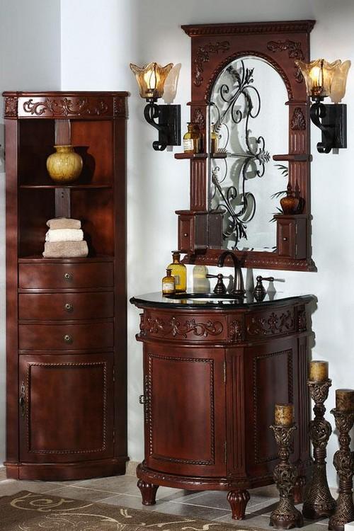Мойдодыр - мебель для ванной из дерева