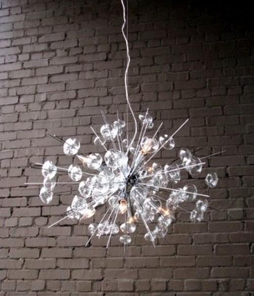 Люстры подвесные необычной формы