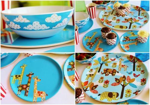Детская посуда для кухни