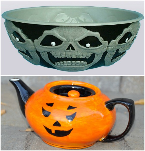 Кухонная посуда к празднику Halloween