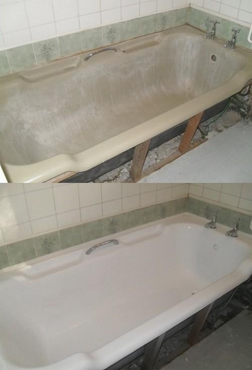 как покрыть ванну эмалью