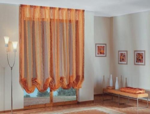 готовые австрийские шторы