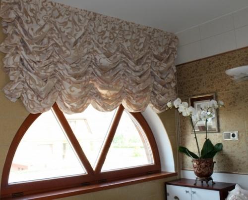 Подъемные шторы французские