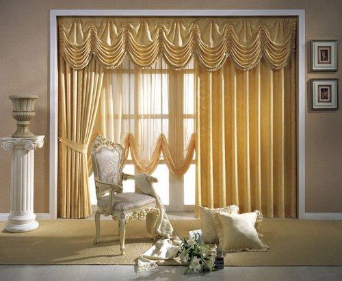 Роскошные французские шторы