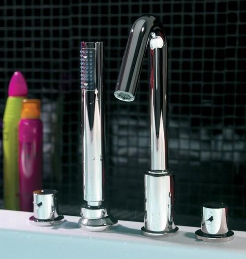 Врезные смесители для ванной