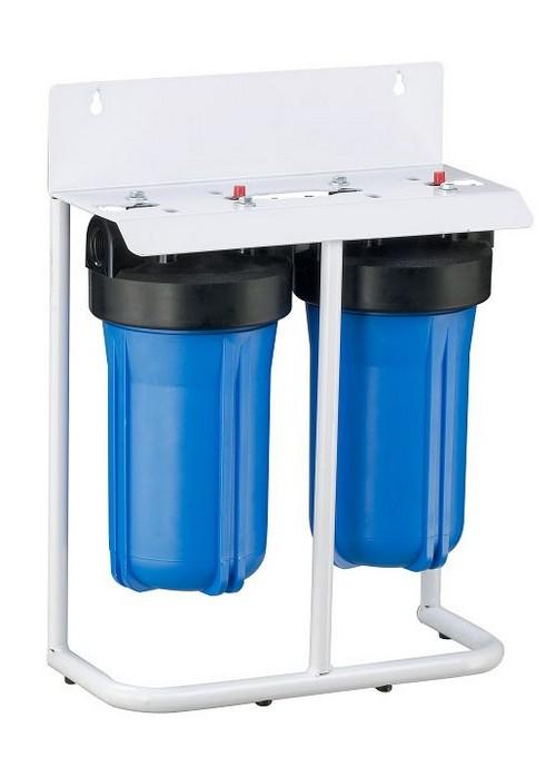 Двухступенчатые магистральные фильтры для очистки воды