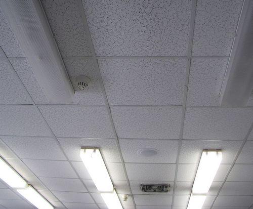 Подвесные потолки армстронг фото