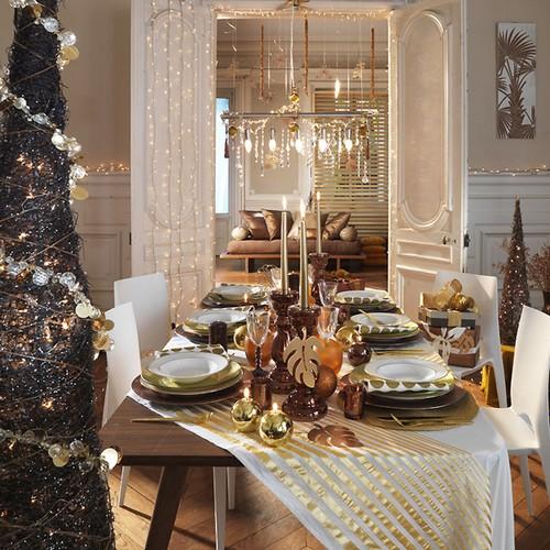 Идеи сервировки новогоднего стола фото