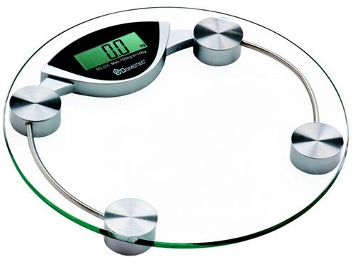 Весы напольные электронные стеклянные