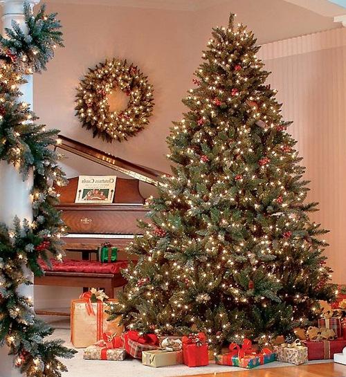 Украшение новогодней елки 2013 фото